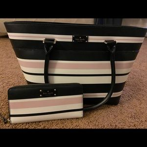 Brand new Kate Spade purse and wallet